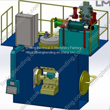 Hydraulic Tee Machine