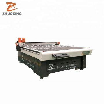 Electric cnc carton cutting machine With Oscillating Knife