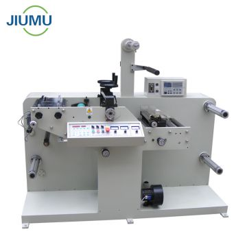 Automatic blank label rotary die cutting machine