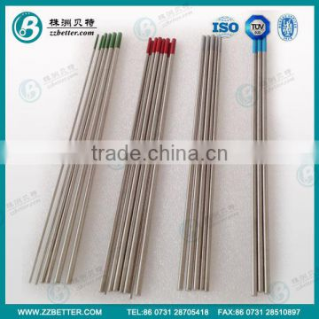tungsten brazing electrodes from china supplier