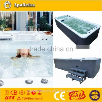 Fiberglass pool SRP650 for outdoor swimming
