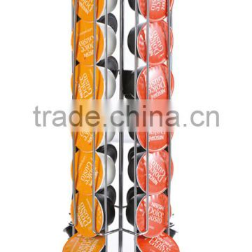 High quality mental 28pcs Dolce Gusto coffee capsule holder