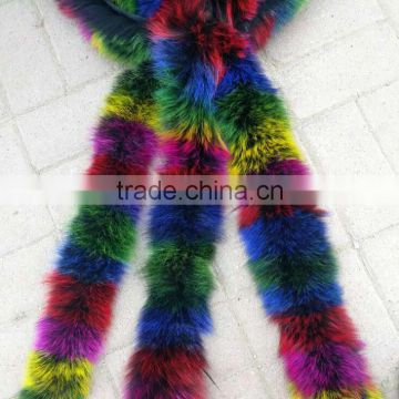 BBG-H-19 Hot sale factory direct supply high quality fox fur trimmings