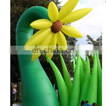 Giant hot sale yard decoration inflatable flower