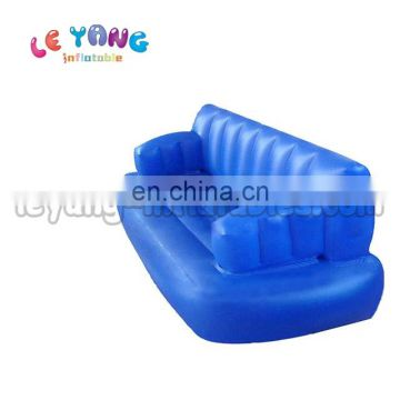 Custom advertising inflatables Blue sofa Air bubble chairs