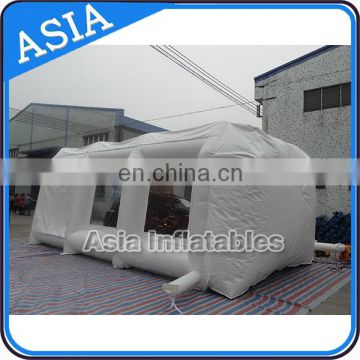 Best quality workstation inflatable spray paint booth for car