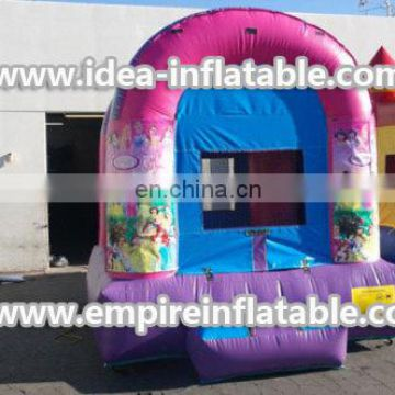 custom princess inflatable children bounce house ID-MD1015