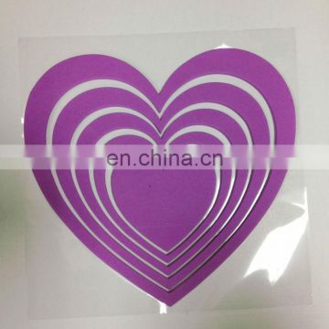 wall sticker,loving heart wall stickers,kids wall stickers