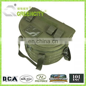 Tactical Helmet Bag - Black & Green