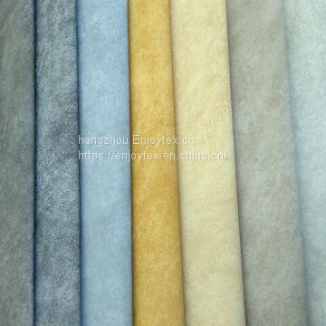 artifical synthetic faux  PU leather for sofa-wally