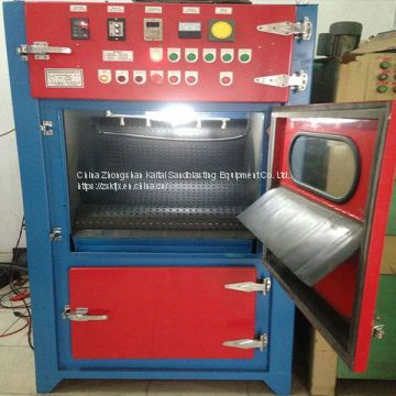 Crawler type deburring machine