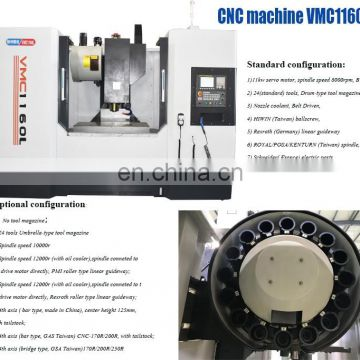 CNC Chuck Dental Automatic Vertical Metal Machine