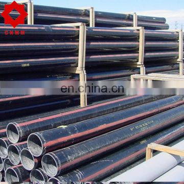 6 inch sch 40 erw pipe weight 21 ft black painted steel tube