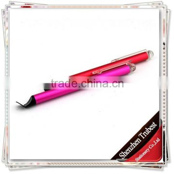 TTO-04 Novelty touch pen with clip , Customize Stylus pen for promotional