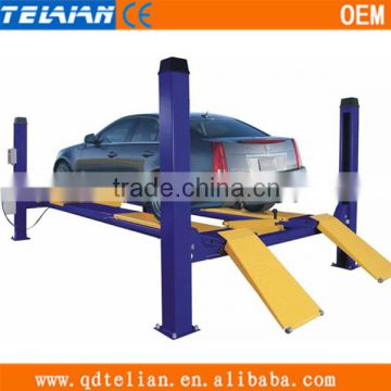 PTJ601-27 Fou Post Car Lift/Hydraulic Car Lift/Used Car Lift