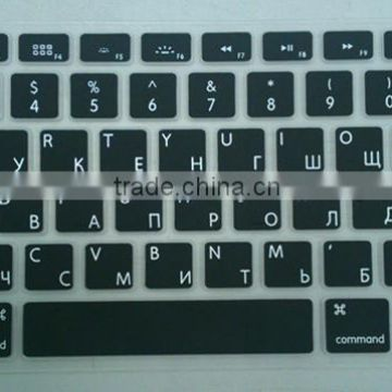EU Layout Italian Language Keyboard Skin For Macbook Pro Manufacturer