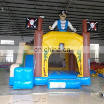 commercial grade customized Inflatable pirate Combo,pirate combo bouncer, inflatable catsle