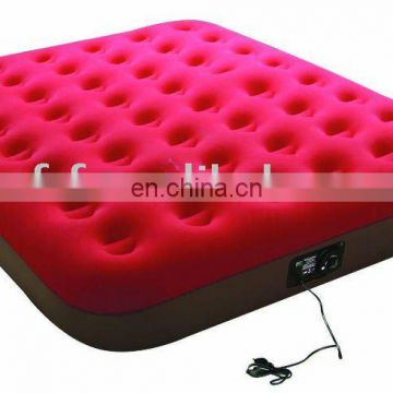 air bed/Inflatable PVC flocked bed/Inflatable flocked air bed