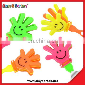 Wholesale Party Favors Toy Plastic Hand Clappers Toy