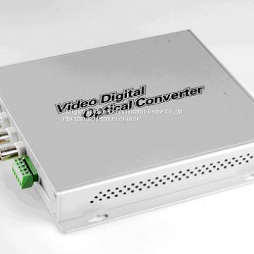 4 Channel Video fiber multiplexer