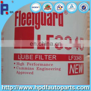 Diesel engine parts Oil lubrication filter LF3345