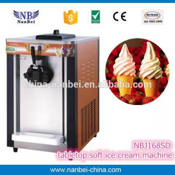 LCD display 36L liquid nitrogen ice cream machine with CE approved
