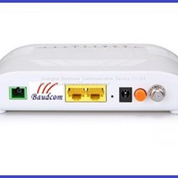 Economical and Practical FTTH GE+FE+CATV GEPON ONU