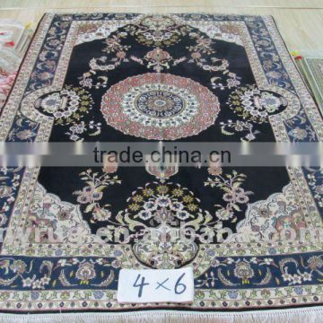 4x6 ft' Oriental carpet of boutique handmade long hair rug