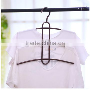 2017 low price Assessed Supplier PVC Coated wire metal clothes hanger