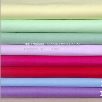 Hebei TC dyed fabric price tc pocket fabric TC bleached fabric T/C65/3 45X45 110X76 44/45