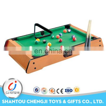 Hot sale cheapest kids sport toys mini portable united billiards pool table