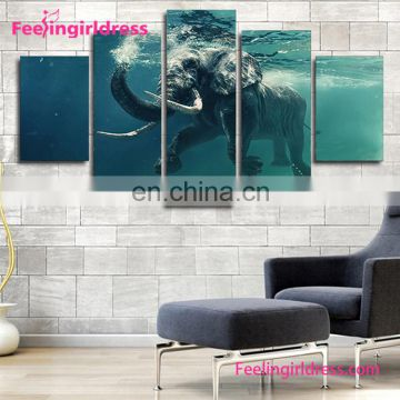Wholesale Custom Living Room Modern Red canvas Wall Oil Paintings For Sale