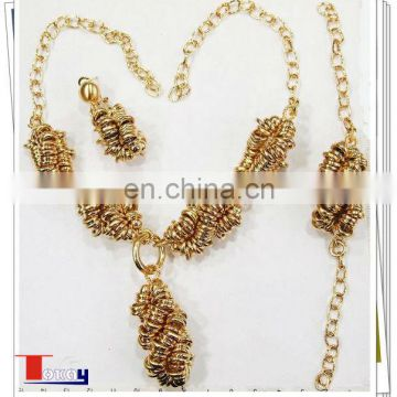 latest high quality african jewerlry sets 18k wholesale