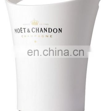 White Acrylic Champagne Glasses For Moet&Chandon