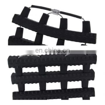 Wholesale Hot selling High Density Silicone Car Emergency Rescue Chain Track for Mud Sand Snow Trap