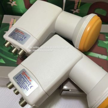 Single LNB1 TWIN LNB2 QUAD LNB4 8OUTPUT LNB8 universal LNBF KU BAND