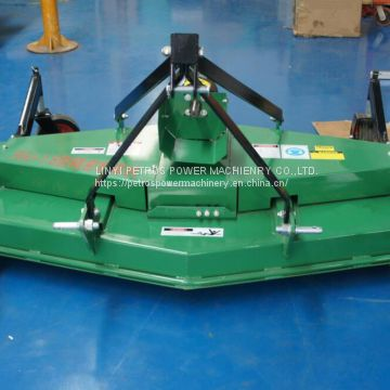 Traction type precise rotary type lawn mower