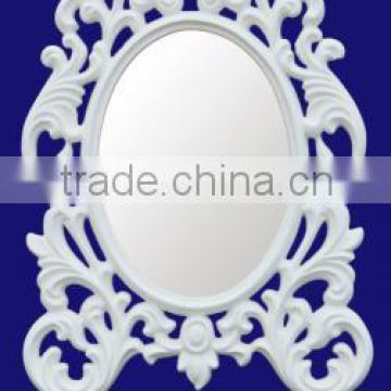 Old Fashioned Style Five Star Hotel Lighted Vanity Mirror For Wall Decorative Mirror                                                                         Quality Choice