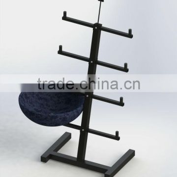 8 Basins Display Stand