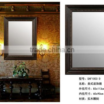 Hand Carved Decorative Wood Mirror Frame