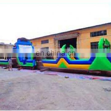 best design three parts flexible inflatable obstacle course