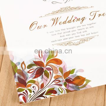 fingerprint wedding tree wedding attendance album signature guestbook