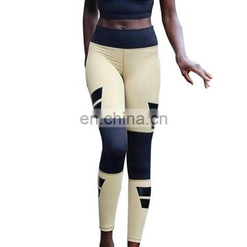 Womens workout tights fitness yoga quick-dry compression pants