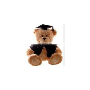 Personalized Stuffed Plush Graduation Bear Toy