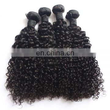 Factory wholesale top quality human hair deep curly last long natural hair extensions