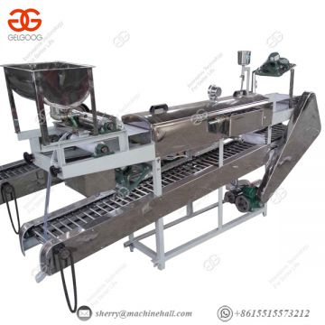 250 Kg/h Automatic Rice Noodle Making Machine, Rice Noodle Steamer Machine