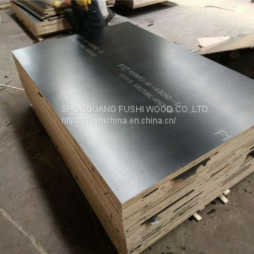 High Quality 4x8 Cheap Price 12mm Thick Waterproof Brown and Black Laminated Poplar Core Film Faced Plywood