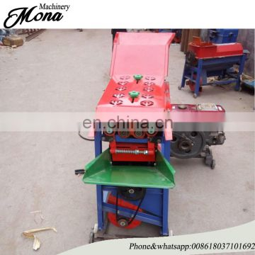 Cheapest price dry corn peeler and thresher machine