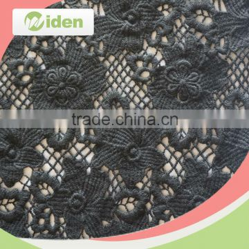 Free sample available cotton embroidery lace geometric pattern chemical lace fabric                                                                                                         Supplier's Choice