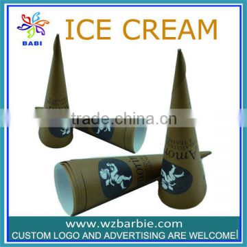 Ox horn conical shape small cone cup
